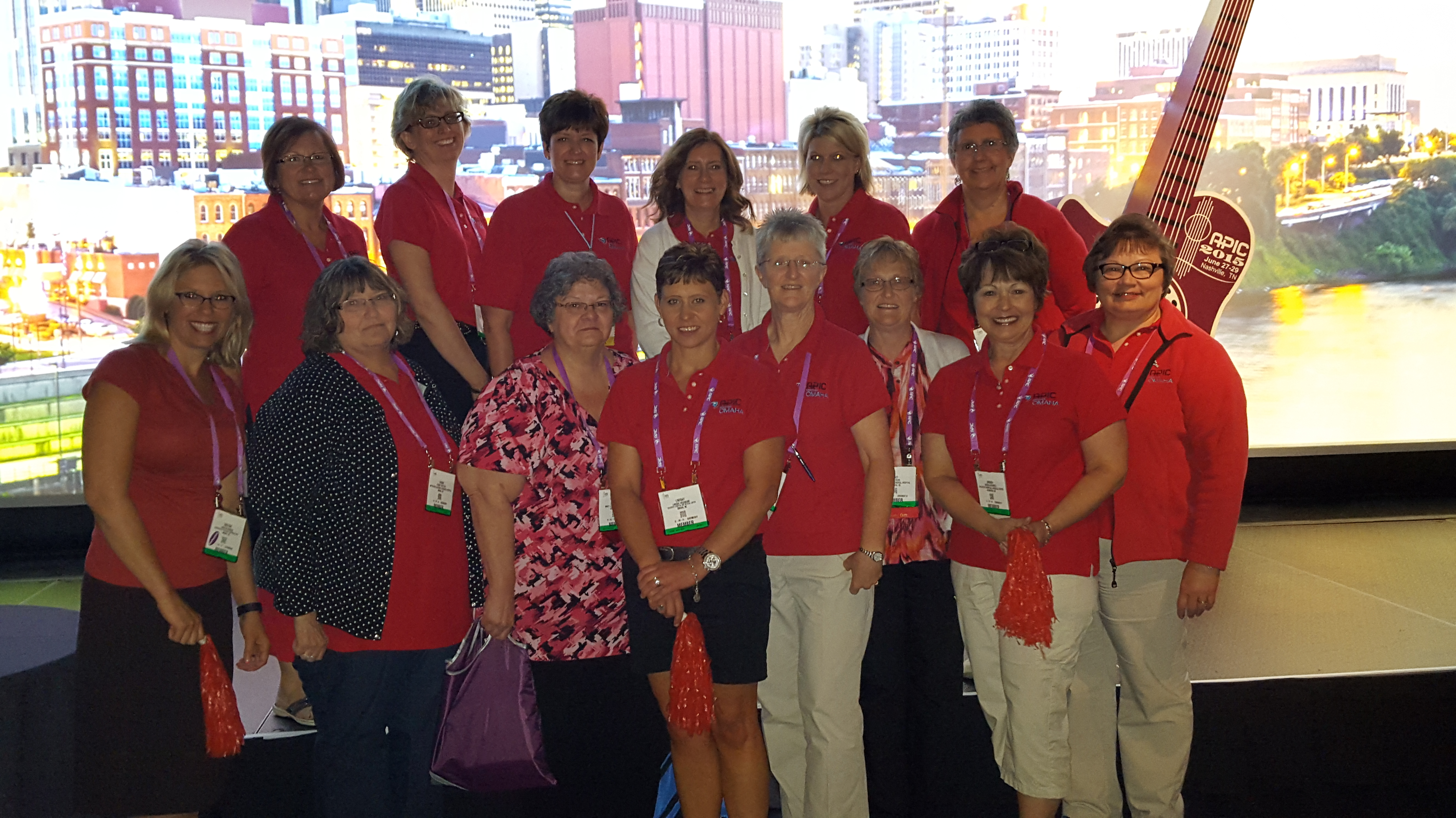 Greater Omaha APIC members at the 2015 Convention
